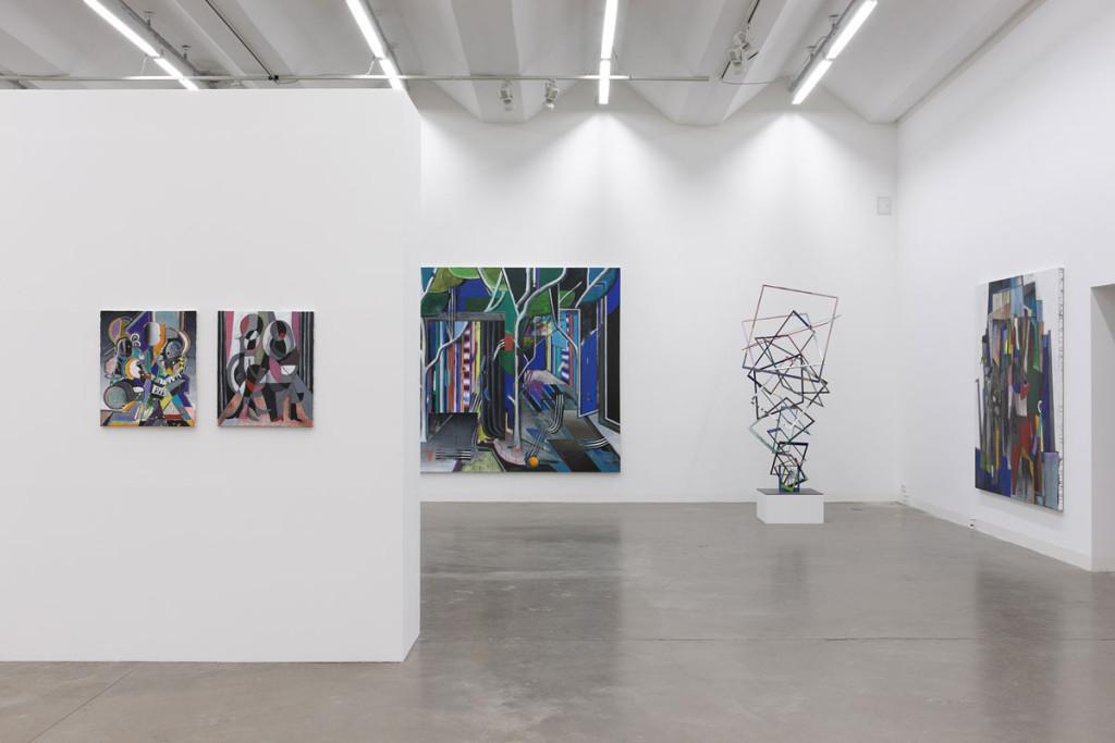 Christian Achenbach, Exhibition, Acupalco, 2014