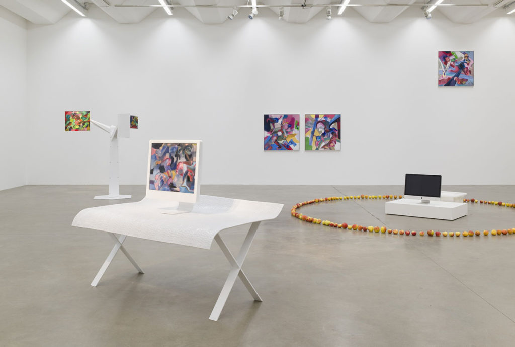 Alexander Iskin, Apple Sauce in Paradise, Sexauer Gallery, Exhibition View 2017