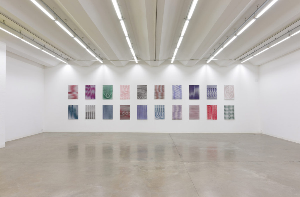 Caroline Kryzecki, Superposition, exhibition view, 2014